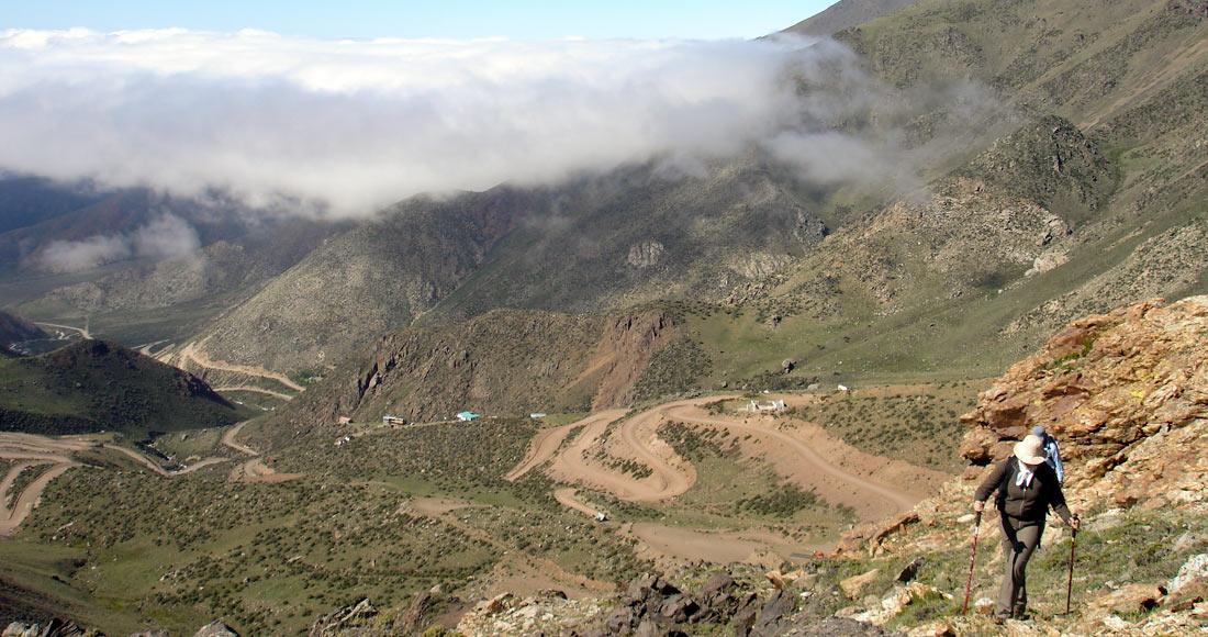 Vallecitos, Andes Hike, Mendoza, trekk, Arenales, Potrerillos, Condor