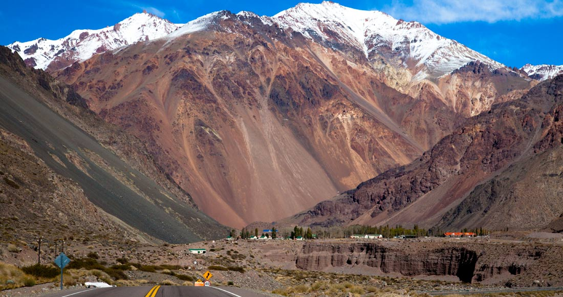 high mountain Aconcagua tour, Mendoza Andes, drive tour, route 7, Andes tour