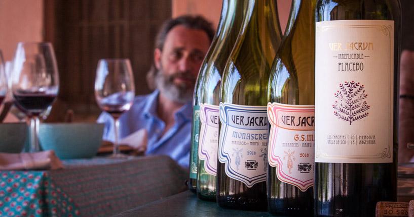 VerSacrum winery Mendoza the tintos private wine tour, winemaker tour, wine tasting, ultimate wine tour