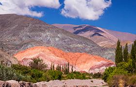 Cierro 7 colores Argentina Mendoza Salta Purmamarca Humahuaca