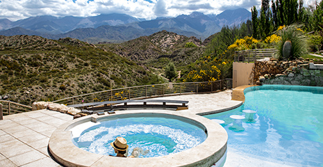 best hotel, hotel, potrerillos, lodge, mendoza, hotel mendoza, exclusive lodge, luxurious hotel, mendoza andes, package, pool, infinity pool